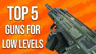 Black Ops 4 In Depth: Top 5 Guns For Low Levels