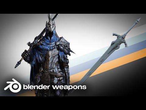 Dark Souls III - Artorias Great Sword -  BLENDER WEAPONS (Blender)