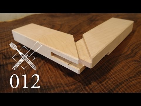 Joint Venture Ep.12: Mitered bridle joint (Western Joinery)