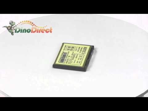 KBTEL 1750mAh Superior Battery for Samsung D828 T809 P300 A900  from Dinodirect.com