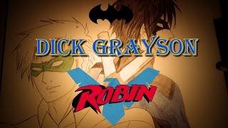 Speed Draw Dick Grayson (DC Comics)