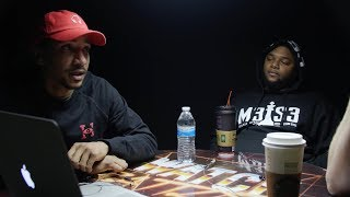 HOLLOW and GEECHI react to LUX vs VERB and CASSIDY vs GOODZ