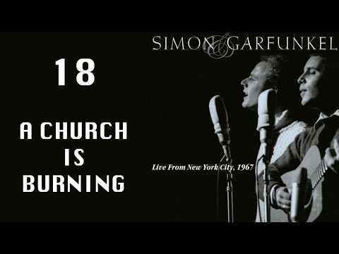 A Church Is Burning, Live From NYC 1967, Simon & Garfunkel