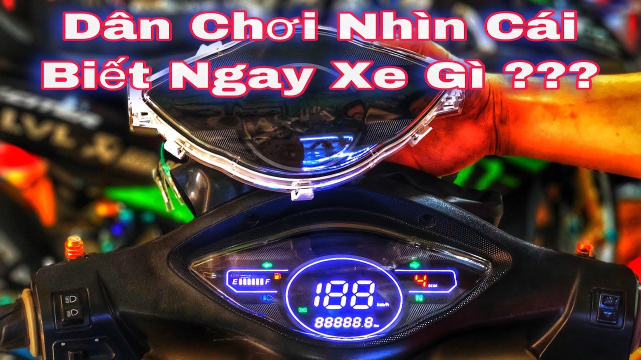 Đồng Hồ Led Dành Cho Wave A 100 Cực Đẹp Lắp Như Zin – Hướng Dẫn Lắp Đồng Hồ Led  Wave 100 2020 _LLVL