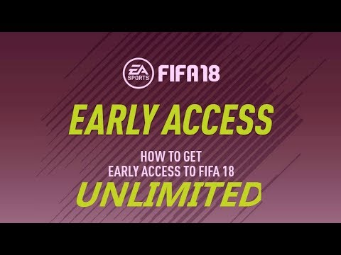 HOW TO GET FIFA 18 EARLY ACCESS FOR UNLIMITED TIME! FIFA 18 EA ACCESS TRIAL GLITCH!