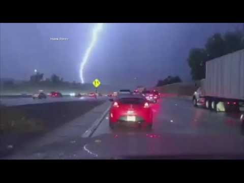 Lightning Strike Slo Mo