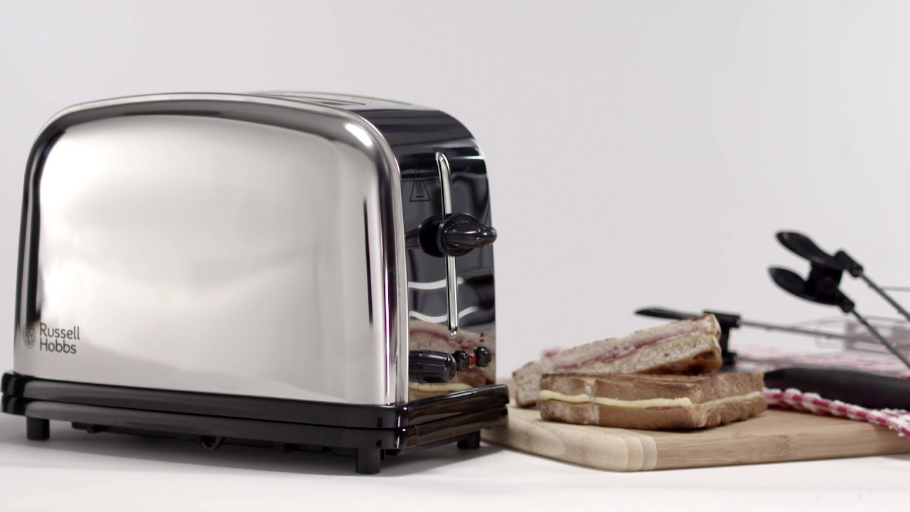 Russell hobbs glass panini press - Russell Hobbs Chester Sandwich Toaster 23310 57