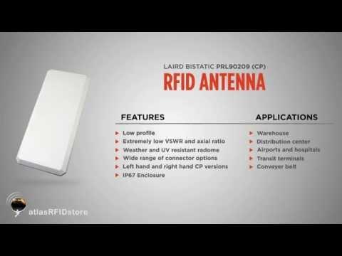 Laird Bistatic PRL90209 (CP) RFID Antenna (902-928 MHz)