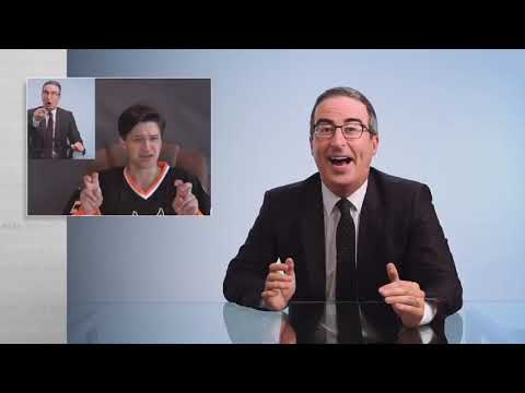 John Oliver featured Casey Bryant and the Danbury Hat Tricks and others in his latest segment on Danbury. Warning: Graphic language.