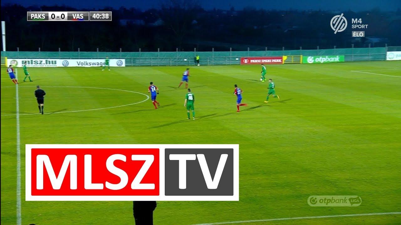 Paksi FC - Vasas FC | 3-1 | OTP Bank Liga | 18. forduló | MLSZTV