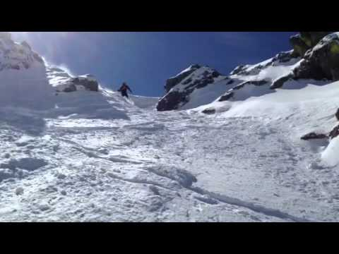 Mike's chute run