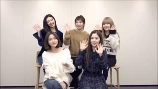 171117 Joox Thailand - Red Velvet 레드벨벳 Perfect Velvet 2nd Album Greetings Video