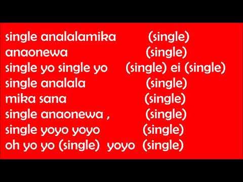 SINGLE LYRICS BY ABDUKIBA FT ALIKIBA