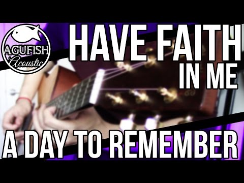 A Day to Remember - Have Faith in Me | Acoustic Instrumental Cover