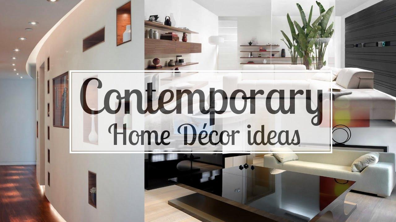 6 Contemporary Home Dcor ideas - YouTube