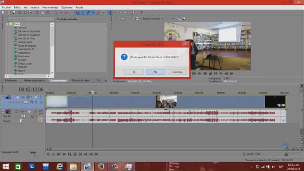 Error al cargar Proyecto en Vegas Pro, se congela + Solución - YouTube