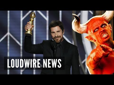 Christian Bale Thanks Satan After Winning Golden Globe