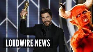 Christian Bale Thanks Satan After Winning Golden Globe
