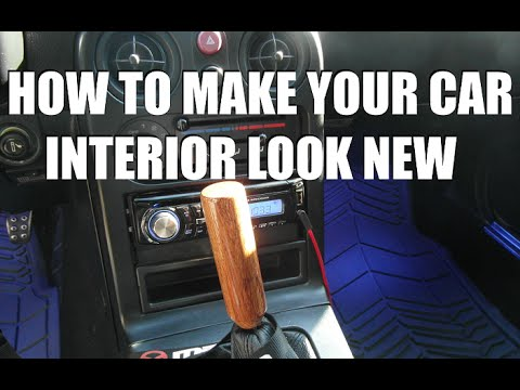 how to make your car interior look new youtube. Black Bedroom Furniture Sets. Home Design Ideas