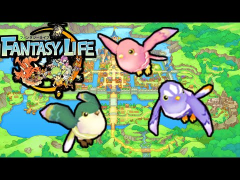 Fantasy Life 3DS: Bird Pet! New Animal Bounty Box Mercenary Gameplay Walkthrough PART 5 Nintendo