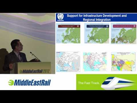 Economic Cooperation Organization's presentation from Middle East Rail 2012