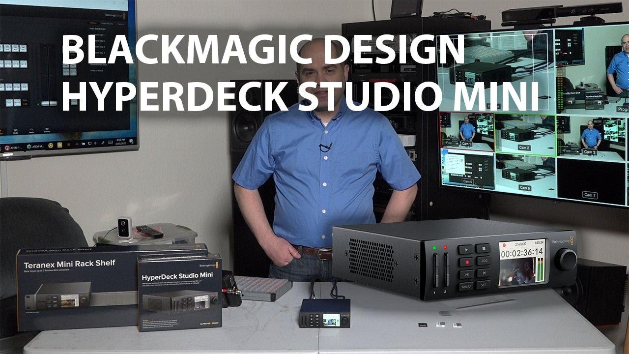 Blackmagic Design Hyperdeck Studio Mini Review Youtube
