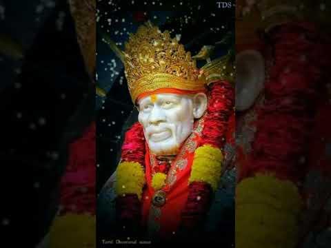 Sai Baba Tamil Devotional Whatsapp Status Download