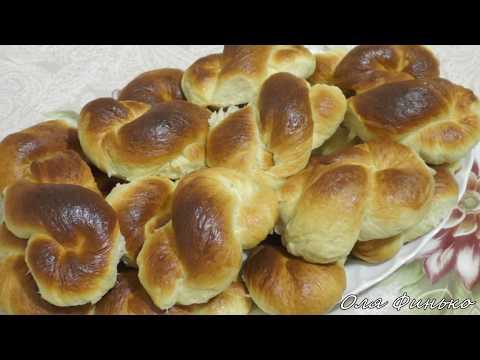 Тесто для булочек в хлебопечке / Булочки - проще не бывает
