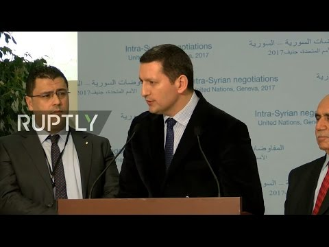 LIVE: Syria peace talks in Geneva - Stake out by Cairo platform representatives
