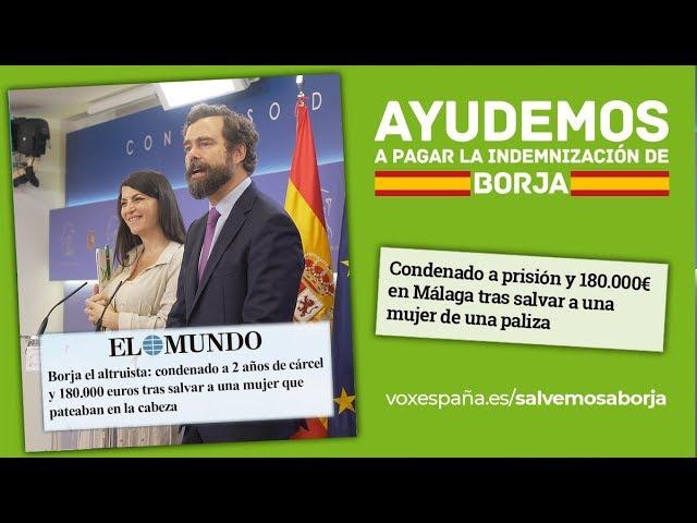Ayudemos a Borja a pagar la injusta multa de 180.000 euros