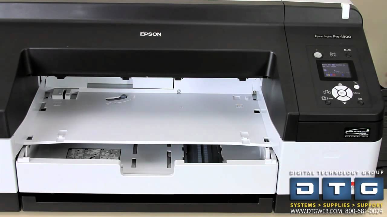 NEW DRIVERS: EPSON STYLUS PRO 4900 PRINTER