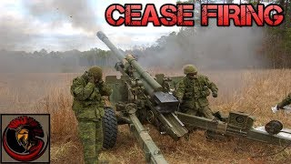 Cease Firing Gun Drill | CANADIAN ARTILLERY
