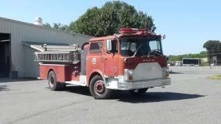 1975 Mack Tanker Pumper Firetruck - Tag# 54148 thumbnail
