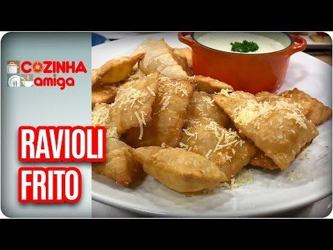 Ravioli Frito Ao Molho Quatro Queijos - Gabriel Barone | Cozinha Amiga (03/04/18)