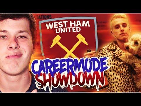 CAREER MODE SHOWDOWN!!!! vs. WorldofJCC (West Ham United) - FIFA 17 CAREER MODE CHALLENGE