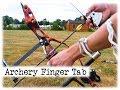 Archery Finger Tab    DIY