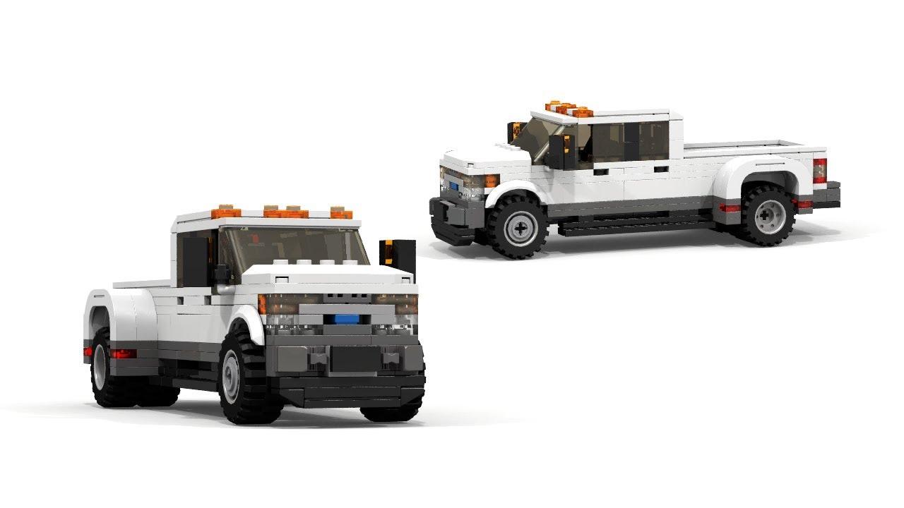 Lego 2018 Ford F 450 Super Duty Tutorial Youtube