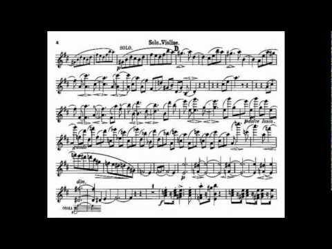 Brahms, Johannes mvt1(begin) violin concerto