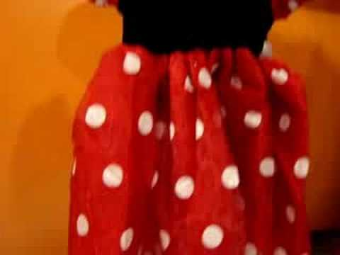 COSTUME VESTITO HALLOWEEN DISNEY MINNIE NEONATA 18 MESI - YouTube 22aad61ed40