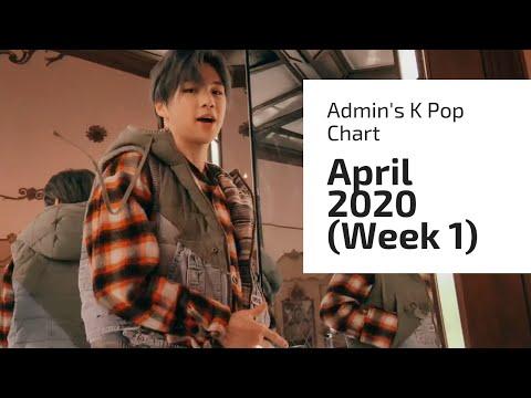 TOP 30 • ADMIN'S K POP SONG CHART (APRIL 2020 - WEEK 1)