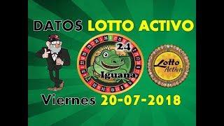 Lotto Activo Datos Fijos 20/07/2018   Tio Ruletero