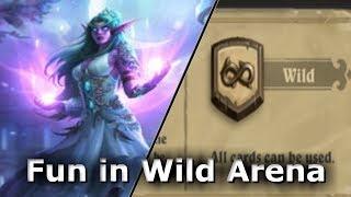Having fun in Wild Arena | Hearthstone Kobolds and Catacombs