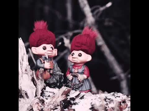 Mother and Father Pinedam! Christmas trolls