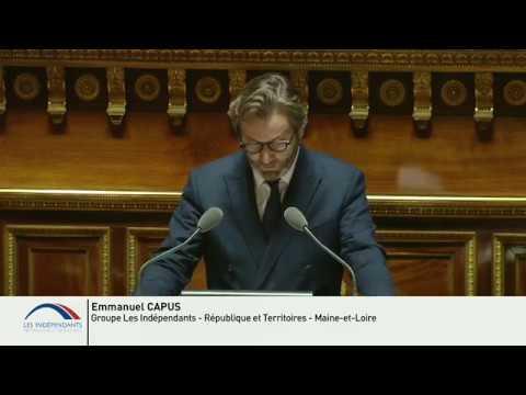 Emmanuel CAPUS : PJL de Finances pour 2020 - Justice