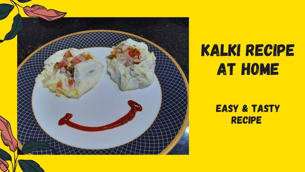Kalki Recipe at Home | Tasty Egg Kalki | Suki's Parathas | Easy Home Recipes