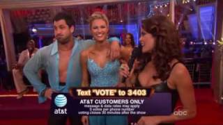 Dancing With The Stars Season 10 Week 9: Erin Andrews & Maksim Chmerkovskiy - Viennese Waltz