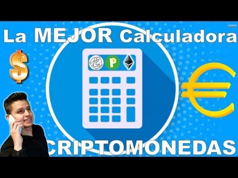 ✔La MEJOR Calculadora De Criptomonedas Y Bitcoin /  Recomendada