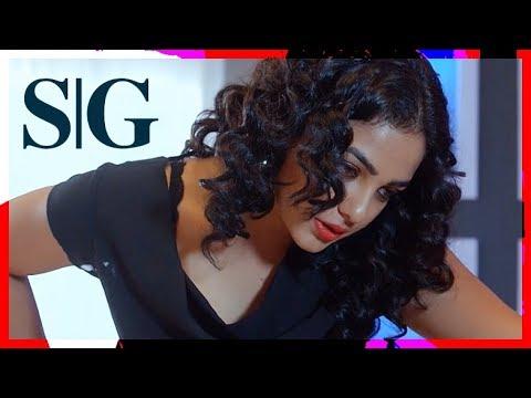 Malini 22 - Nithya Menon Boob Slap | Milky Mango Shake | Repeat Mode | Slowmotion | 1080p HD thumbnail