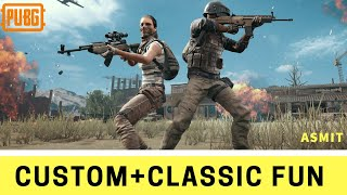 Lets play CUSTOM ROOM and Classic Matches | ONEPLUS 5 pubg mobile | Slayer Clan |Asmit|Nepal