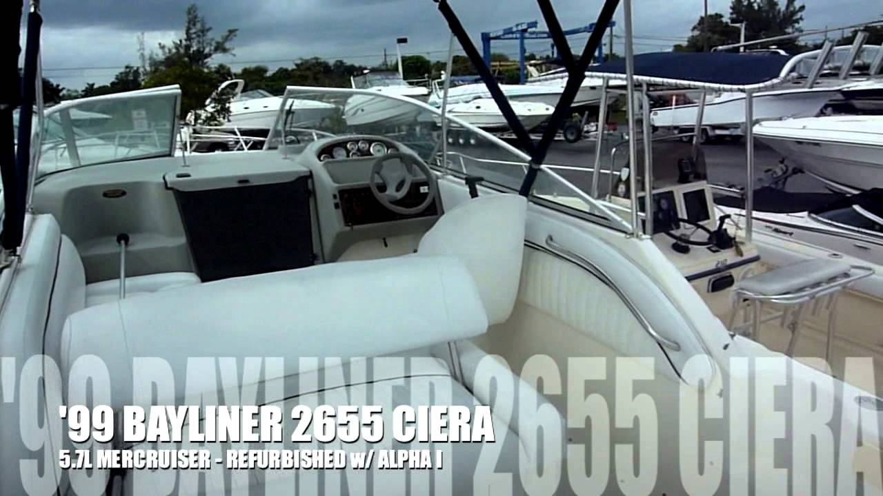 1999 Bayliner 2655 Ciera For Sale Boats International